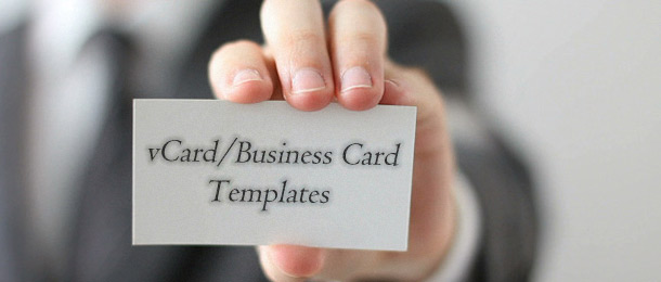25 Creative vCard/Business Card HTML Templates