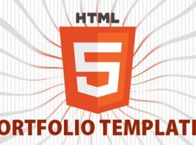 Inspiring Collection of HTML5 Portfolio Templates