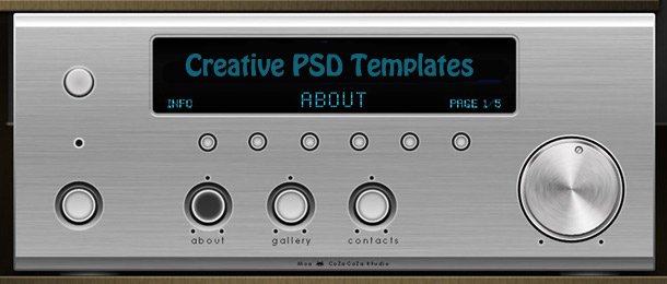 Creative PSD Templates Worth Download