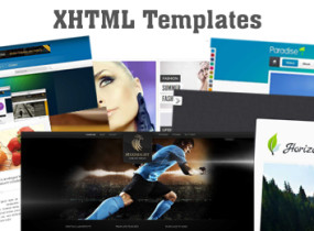 20+ Best Premium XHTML Templates