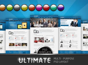 Ultimate – Multi-purpose PSD Template