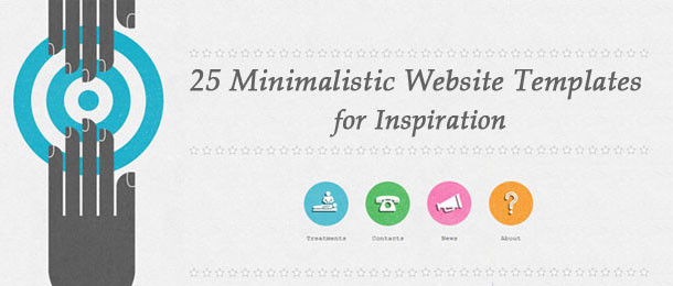 25 Minimalistic Website Templates for Inspiration