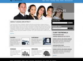 Asian Architects – Free Professional HTML Responsive Template