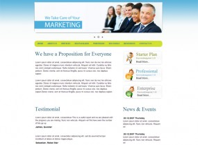 Media Market – Free Corporate HTML Responsive Template
