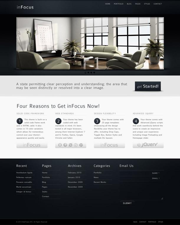 inFocus – Powerful Premium Business HTML/CSS Template