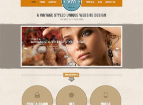 Vintage Immersed – Multipurpose HTML Template