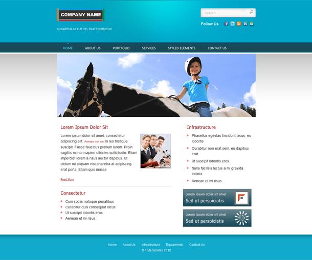 Blue – Multipurpose HTML Web Template
