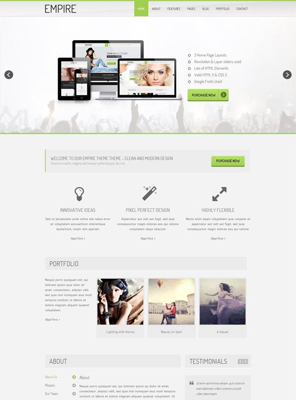 MyEmpire | Responsive HTML5 Template