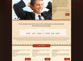 Law / Legal Business – Responsive HTML Template