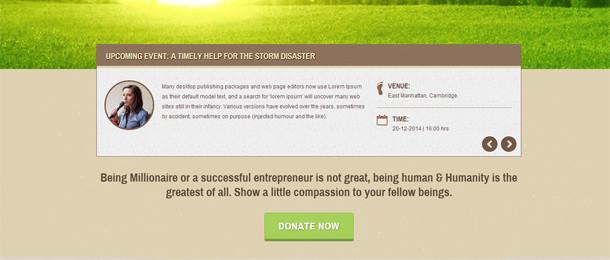 Humanity | NGO & Charity HTML Template