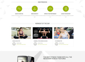 Fitness Zone | Sports Template for Gym & Fitness