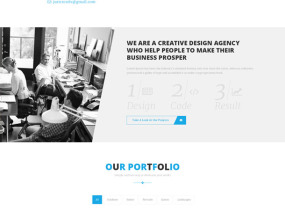 Mountcool – Creative One Page Multipurpose Template