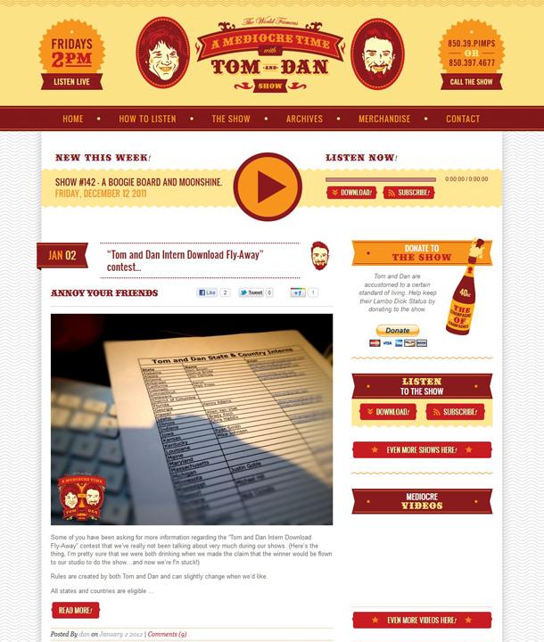 www.tomanddan.com