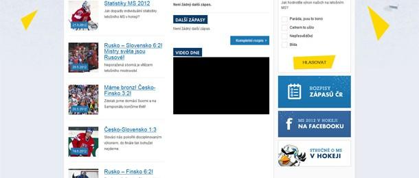 www.hokej2012.cz