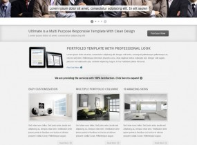 Ultimate HTML Template