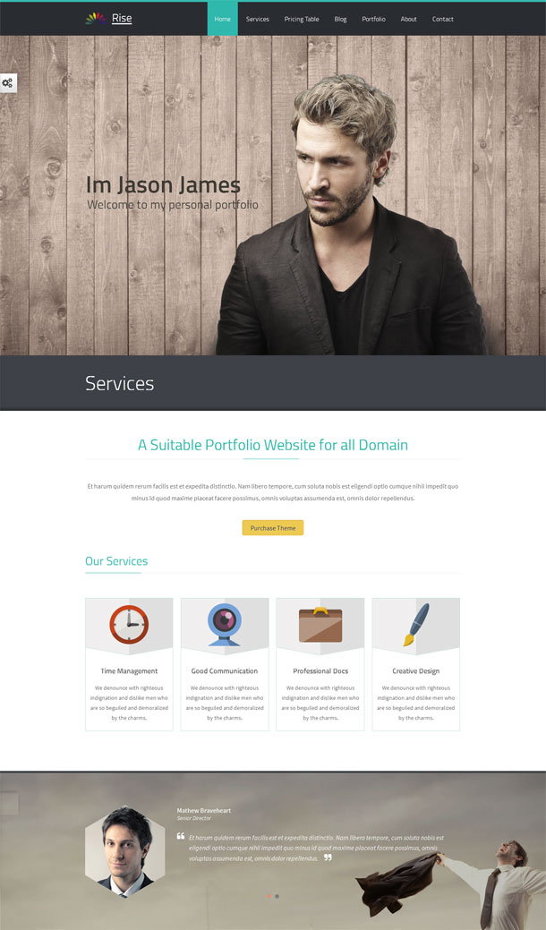 Rise Html5 Template